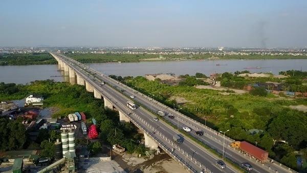 Thanh Tri bridge