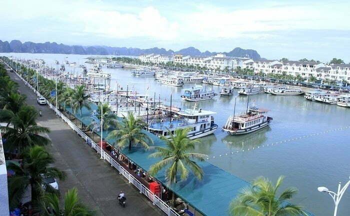 Tuan Chau port