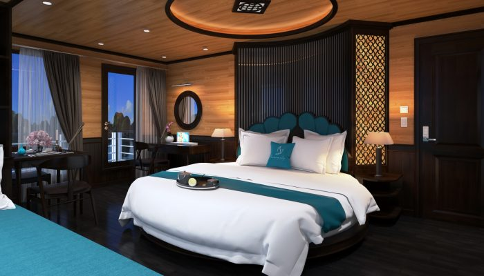 HALONG SERENITY CRUISES - MOON SUITE CABIN
