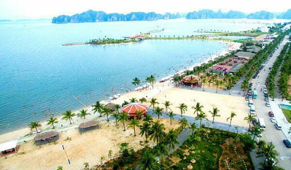 Bãi tắm Tuần Châu Hạ Long